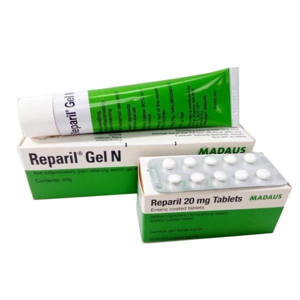 دواء ريباريل متوفر في شكل اقراص و جل ايضا للدهان