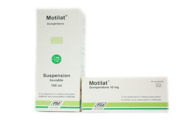مواصفات أقراص وشراب Motilat موتيلات لعلاج القيء والغثيان وقرحة المعدة