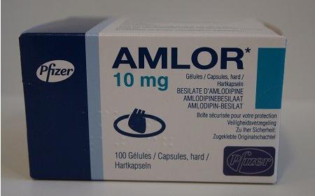 مواصفات أقراص Amlor املور لعلاج الذبحة الصدرية وضغط الدم المرتفع