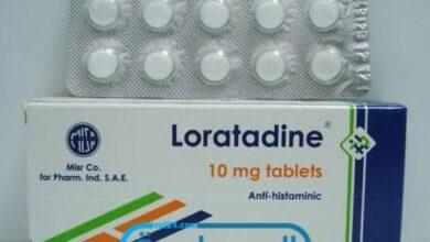 لوراتادين لعلاج الطفح الجلدي