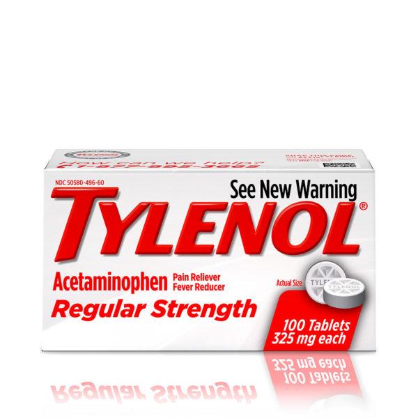 على كيفك تايلينول Tylenol لتسكين الألام وخفض الحرارة