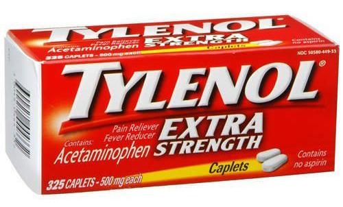مواصفات دواء تايلينول