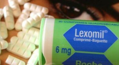 دواء lexomil