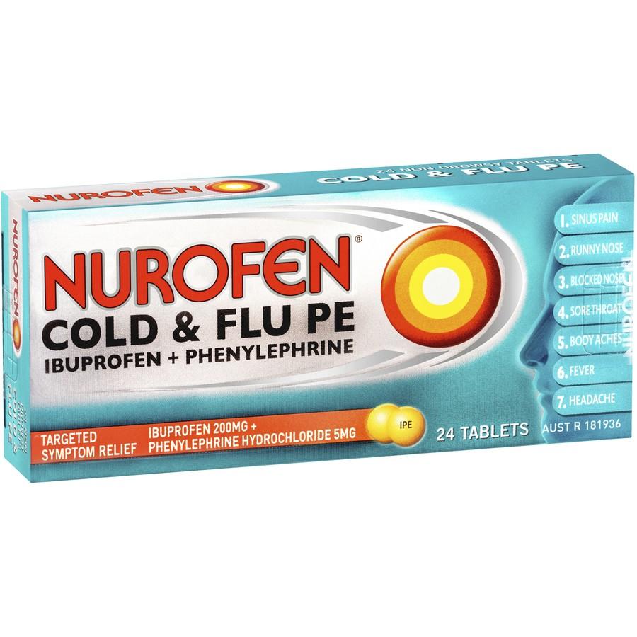 الآثار الجانبية السلبية الناتجة من استعمال دواء nurofen