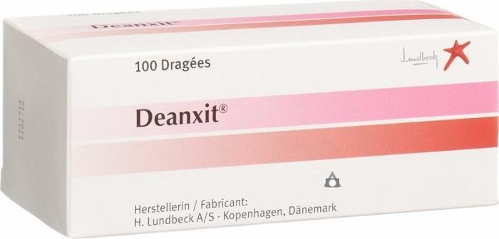 موانع تناول دواء deanxit