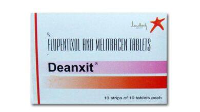 دواء deanxit والنوم