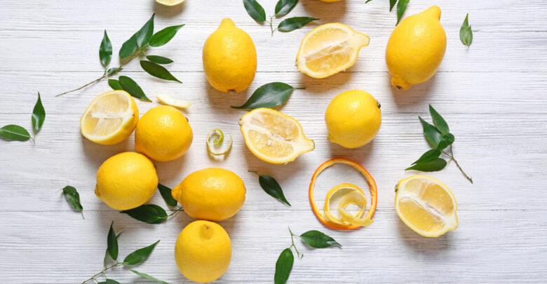 صورة لمجموعة من ثمار الليمون