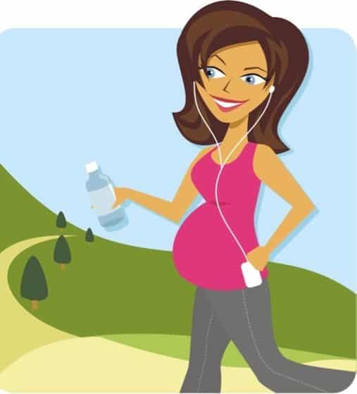 فوائد المشي لـ الحامل