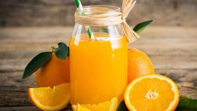 برتقال و عصير برتقال