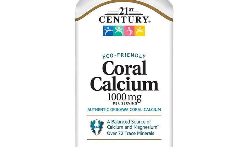 مواصفات مكمل Coral Calcium الغذائي