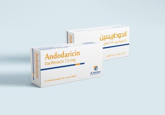 دواء ANDODARICIN علاج التبول اللاإرادي