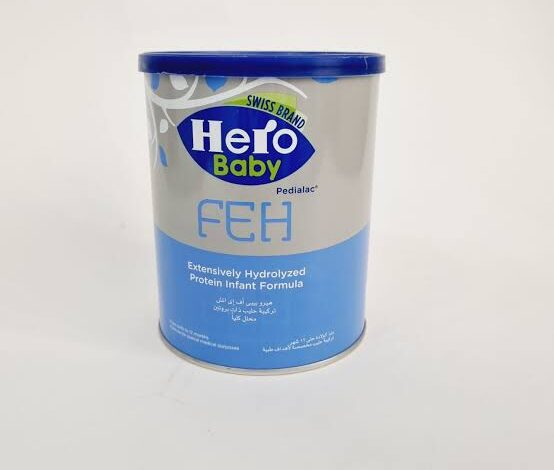 HERO BABY بديل حليب البقر