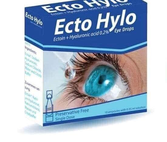 نقط ECTO HYLO لـ علاج جفاف العين