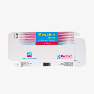 MEGABIO 750 MG 5 TAB مضاد حيوي