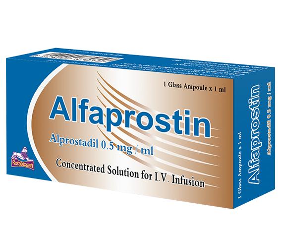 ALFAPROSTIN 0.5 MG / 1 ML 1 AMP لعلاج الضعف الجنسي