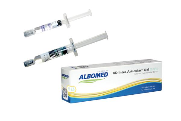 KD GEL 2.2% 1 SYRINGE 2 ML (ALBOMED) لعلاج التهاب المفاصل