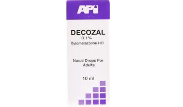 DECAZOL 400 MG / ML 1 VIAL 10 ML علاج التهابات الجيوب الأنفية
