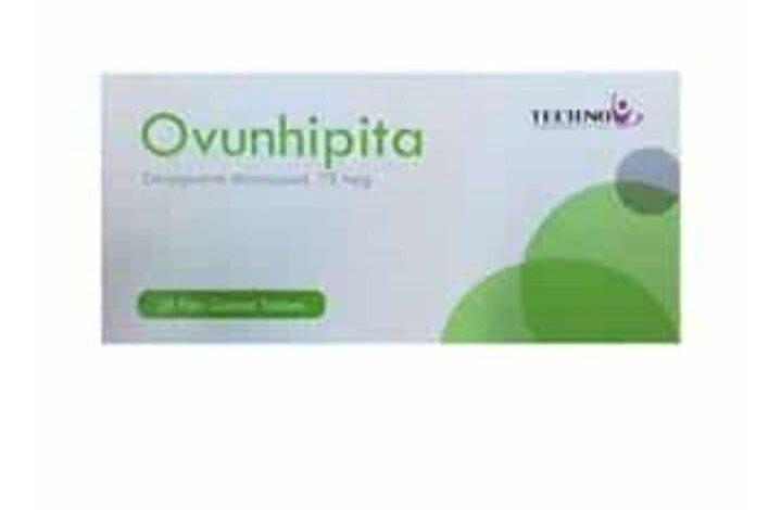 OVUNHIPITA 75 MCG 28 TAB لمنع الحمل